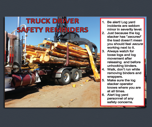 Truck Driver Sign